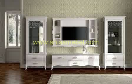 Buffet Tv Warna Putih