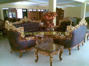 Kursi Sofa Tamu Barcelona Royal
