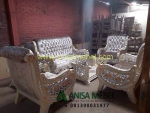 Set Kursi Sofa Alanis Model Mewah