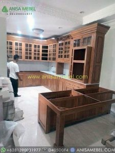 Lemari Dapur (Kitchen Set) Kayu Jati
