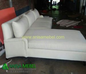 Jual Sofa Sudut Kontemporar Cushion Minimalis