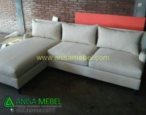 Sofa Sudut Kontemporer Cushion
