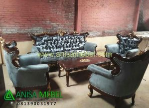Sofa Tamu Luxury Classic Design
