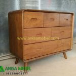 Harga Jual Chest 6 Drawers Retro