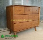 Chest 6 Drawers Retro