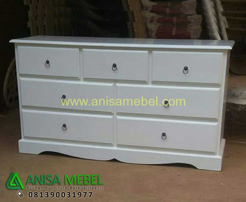 Harga Jual Chest 7 Drawers Shabby