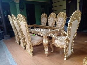 Set Kursi Meja Makan Royal